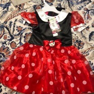 Minnie Mouse baby costume size 12-18